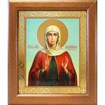 Мученица Василисса Коринфская, икона в широкой рамке 19*22,5 см - Иконы