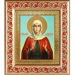 Мученица Василисса Коринфская, икона в рамке с узором 14,5*16,5 см - Иконы