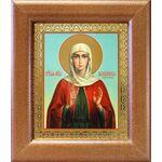 Мученица Василисса Коринфская, икона в широкой рамке 14,5*16,5 см - Иконы