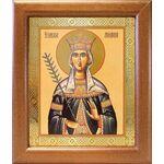 Благоверная княгиня Милица Сербская, икона в широкой рамке 19*22,5 см - Иконы