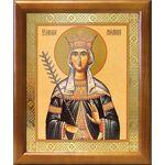 Благоверная княгиня Милица Сербская, икона в рамке 17,5*20,5 см - Иконы
