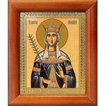 Благоверная княгиня Милица Сербская, икона в рамке 8*9,5 см - Иконы