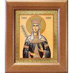 Благоверная княгиня Милица Сербская, икона в широкой рамке 14,5*16,5см - Иконы