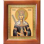Благоверная княгиня Милица Сербская, царица, икона в рамке 12,5*14,5 см - Иконы