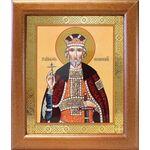 Благоверный князь Юрий Всеволодович, Георгий, широкая рамка 19*22,5 см - Иконы