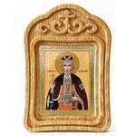 Благоверный князь Юрий Всеволодович, Георгий, икона в резной рамке - Иконы