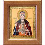 Благоверный князь Юрий Всеволодович, Георгий, широкая рамка 14,5*16,5 - Иконы