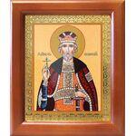 Благоверный князь Юрий Всеволодович, Георгий, рамка 12,5*14,5 см - Иконы