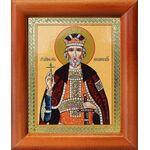 Благоверный князь Юрий Всеволодович, Георгий, икона в рамке 8*9,5 см - Иконы