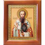 Святитель Василий Великий, икона в рамке 12,5*14,5 см - Иконы