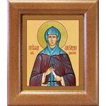 Преподобная Александра Дивеевская, икона в широкой рамке 14,5*16,5 см - Иконы