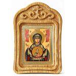 """Икона Божией Матери """"Знамение"""" Верхнетагильская, резная рамка - Иконы"""