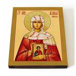 Праведная Аглаида Римская, икона на доске 13*16,5 см - Иконы