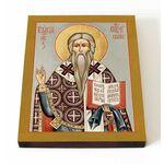 Священномученик Власий Севастийский, печать на доске 13*16,5 см - Иконы