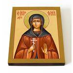 Преподобномученица Ирина Фролова, икона на доске 13*16,5 см - Иконы