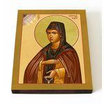 Преподобный Сергий Шухтомский, Шухтовский, икона на доске 13*16,5 см - Иконы