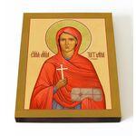 Мученица Татиана Гримблит, икона на доске 13*16,5 см - Иконы