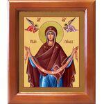 Святый Пояс Пресвятой Богородицы, икона в рамке 12,5*14,5 см - Иконы