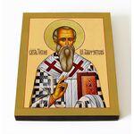 Святитель Тихон, епископ Амафунтский, икона на доске 8*10 см - Иконы