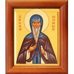 Преподобный Елисей Лавришевский, икона в рамке 8*9,5 см - Иконы