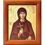 Преподобномученица Евдокия Илиопольская, икона в рамке 8*9,5 см - Иконы