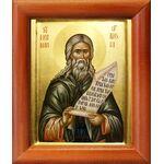 Преподобный Герман Аляскинский, икона в рамке 8*9,5 см - Иконы