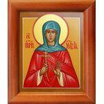 Преподобномученица Евдокия Римляныня, Ия, икона в рамке 8*9,5 см - Иконы