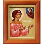 Блаженная Муза Римляныня, икона в рамке 8*9,5 см - Иконы