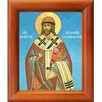 Святитель Дионисий, архиепископ Суздальский, икона в рамке 8*9,5 см - Иконы