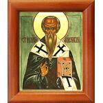 Святитель Иоанн Милостивый, патриарх Александрийский, рамка 8*9,5 см - Иконы