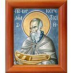Преподобный Варлаам Керетский, икона в рамке 8*9,5 см - Иконы
