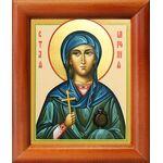Мученица Миропия Хиосская, икона в рамке 8*9,5 см - Иконы