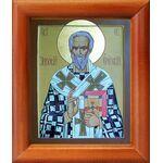 Священномученик Зиновий, епископ Егейский, икона в рамке 8*9,5 см - Иконы