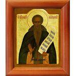 Преподобный Иоанн Лествичник, икона в рамке 8*9,5 см - Иконы