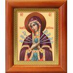 Икона Божией Матери «Семистрельная», рамка 8*9,5 см - Иконы