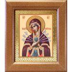 Икона Божией Матери «Семистрельная», в широкой рамке 14,5*16,5 см - Иконы