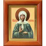 Блаженная Матрона Московская, икона в рамке 8*9,5 см - Иконы
