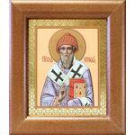 Святитель Спиридон Тримифунтский, широкая рамка 14,5*16,5 см - Иконы