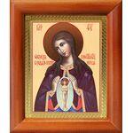 """Икона Божией Матери """"Помощница в родах"""", деревянная рамка 8*9,5 см - Иконы"""