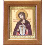 """Икона Божией Матери """"Помощница в родах"""", широкая рамка 14,5*16,5 см - Иконы"""