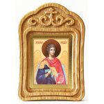 Михаил Архангел, Архистратиг, икона в резной рамке - Иконы