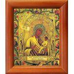 """Икона Божией Матери """"Хлебенная"""", деревянная рамка 8*9,5 см - Иконы"""