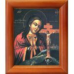 Ахтырская икона Божией Матери, рамка 8*9,5 см - Иконы