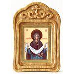 Покров Пресвятой Богородицы, икона в резной рамке - Иконы