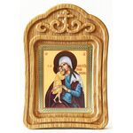 """Икона Божией Матери """"Взыскание погибших"""", резная деревянная рамка - Иконы"""