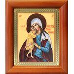 """Икона Божией Матери """"Взыскание погибших"""", деревянная рамка 8*9,5 см - Иконы"""