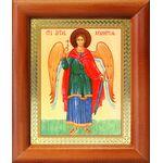 Ангел Хранитель ростовой, икона в деревянной рамке 8*9,5 см - Иконы