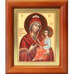 """Икона Божией Матери """"Скоропослушница"""", деревянная рамка 8*9,5 см - Иконы"""