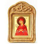 """Икона Божией Матери """"Умягчение злых сердец"""", резная рамка - Иконы"""