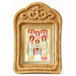 Собор Архангела Михаила, икона в резной деревянной рамке - Иконы